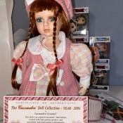 Identifying a Porcelain Doll - doll with certificate