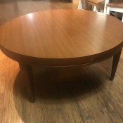 Value of a Mersman Table - plain round table
