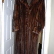 Information on a Fur Coat - full length reddish brown fur coat