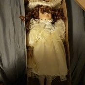 Identifying a Porcelain Doll - doll in a box