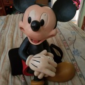Value of a Sitting Mickey Mouse Figurine - Mickey Mouse sitting