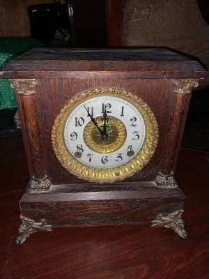 Value of an Antique Ingraham Clock - front of the clock