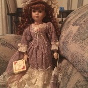 Value of a Collector's Choice Doll - doll in long lavender dress