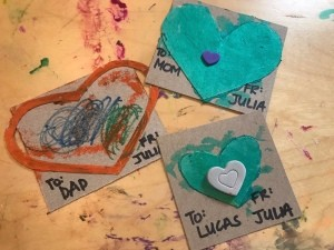 Handmade Valentine's Day Cards - cards for family