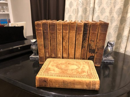 A collection of old encyclopedia.