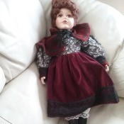 """Replacement Shoes for an Artmark 20"""" Doll - doll with disintegrating shoes"""