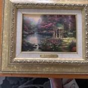 Value of a Thomas Kinkade Print - framed Garden of Prayer print