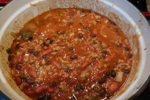 Bowl of Turkey Chili