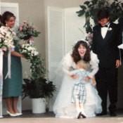 Happy Nephew Greeting Bride