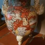Identifying Asian Ceramic Vases - three legged vase with dog handles