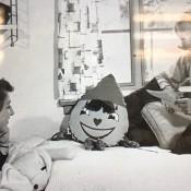 Identifying a 1950s Stuffed Toy - stuffed clown like face toy