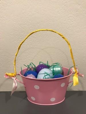 Tin Tub Easter Basket - ready to gift