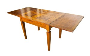 Old extendable wood table