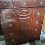 Value of Antique Bedroom Furniture - chest of drawers, antique or perhaps vintage