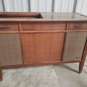 Value of a Vintage Zenith Console Stereo - console