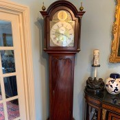 Value of a Grandfather Clock - clock in a corner of the room