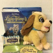 Repairing a Disney Stuffed Toy - plush Lady of Lady and the Tramp fame