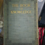 Value of the Book of Knowledge - very old cloth covered volume