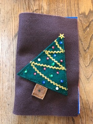 Child's Felt Book - cover