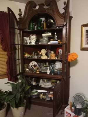 Value of a 1800 Mahogany Chippendale Corner Cabinet