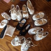 Cleaning and Deodorizing Vintage Baby Shoes