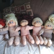 Selling Cabbage Patch Kid Dolls - 5 dolls