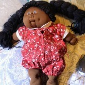 Value of Cabbage Patch Kid Doll - African American girl doll