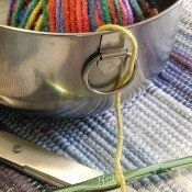 Cheap Yarn Bowl Idea