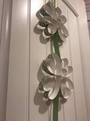 Four-leafed Clover Hanging Door Decoration