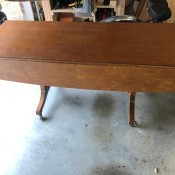 Identifying a Convertible Coffee and Dining Table - drop leaf table