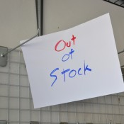 Everything Is Sold Out! Tips for Shopping During a Panic - Out of Stock sign