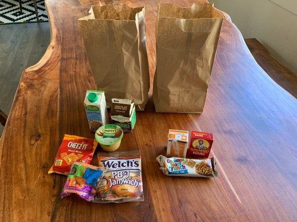 Picking Up Free School Lunch During COVID-19 Closures
