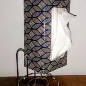 DIY Paper Towel Sheet Saver Using a Tissue Box