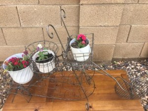 Re-Cycle Planter - finished planter