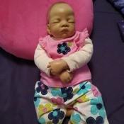 Identifying an Ashton Drake Doll - sleeping baby doll