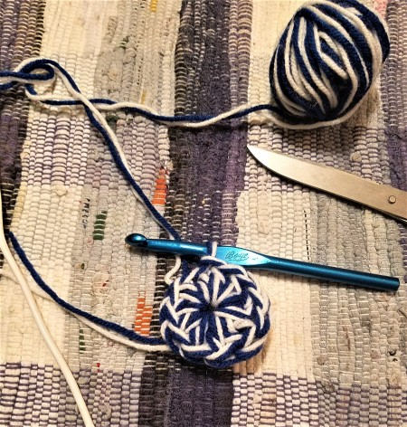Crochet Buddy for Hook and Needle - chain and double crochets