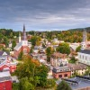 A skyline view of Montpelier, VT.
