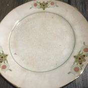 Identifying Saxon China Dinnerware - dinner plate