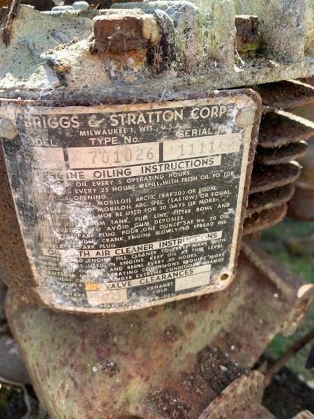 Information on a Gas Powered Pennsylvania Reel Mower
