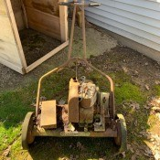 Information on a Gas Powered Pennsylvania Reel Mower - old gas powered reel mower