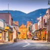 A street in Santa Fe, NM