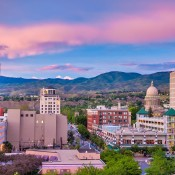 A scenic view of Boise, ID.