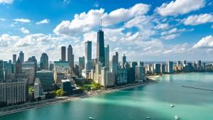 A scenic view of Chicago, IL.