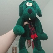 Identifying a Childhood Toy - green dog