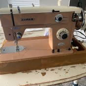 Finding the Model Number for a Nelco Sewing Machine - vintage sewing machine