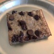 Chocolate Chip Banana Bite Sized Bars