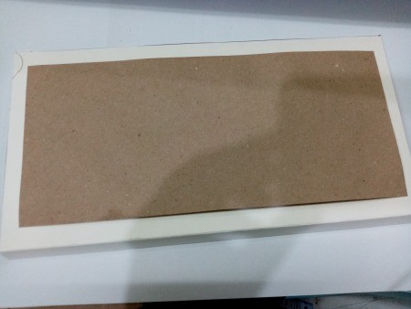 Budget Organizer - cut paper or cardboard to size based on envelop size, fold like a book