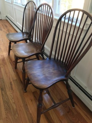 Value of Conant and Ball Windsor Chairs - 3 chairs