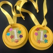 Kids' Award Medals - finished medals