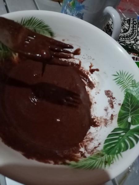 mixed Milo & sugar